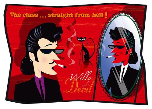 Willy Deville (Foto op Flickr van cyril_guru)