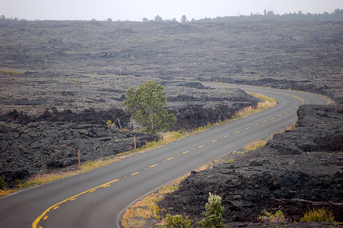 Chain of Craters Road, Volcanoes National Park