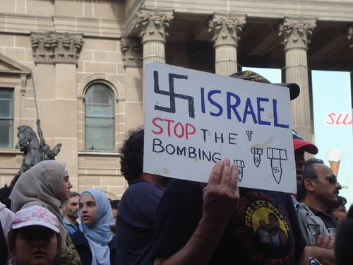 Israel - stop the Bombing of Gaza by Takver.