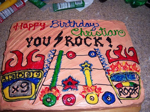 C's 9th Birthday Cake