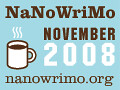National Novel Writing Month Web Badge