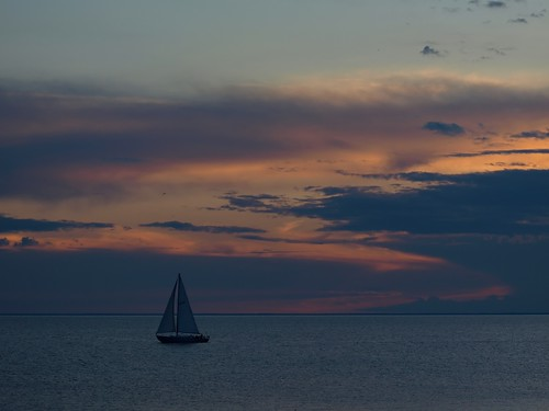 S is for Sailing, Sunset is Nigh