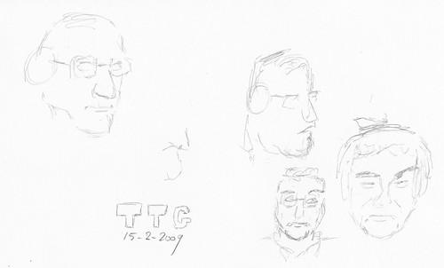 Drawing Leo Laporte - TTG 2009-02-15-b