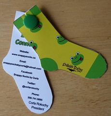 Snappy Socks - business card pix 01