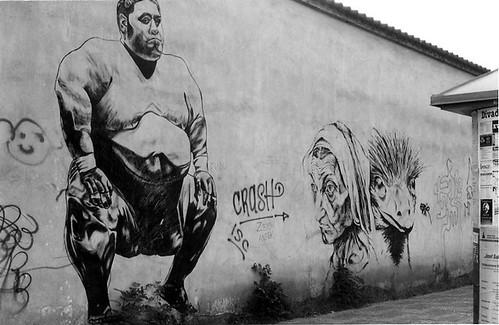 B&W Graffiti