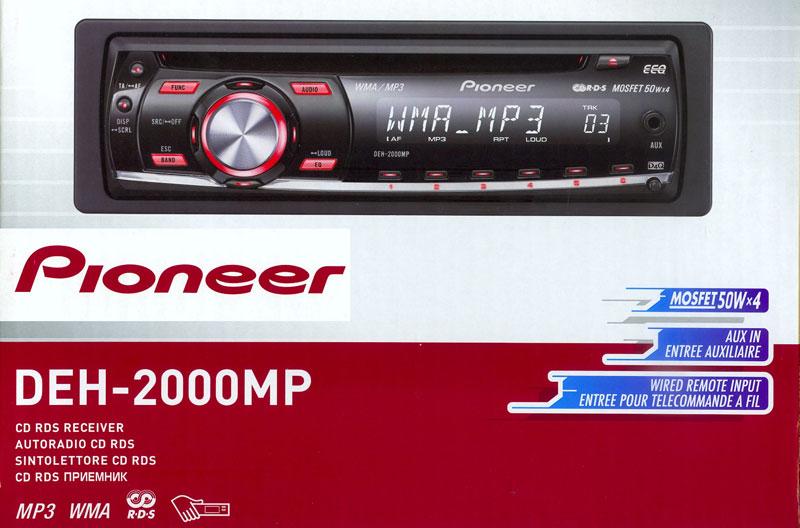PioneerAutoradio-DEH-2000MP