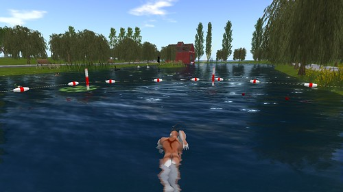 London - Swimming in the Serpentine