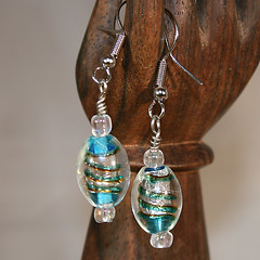 Glass Swirl Dream Earrings