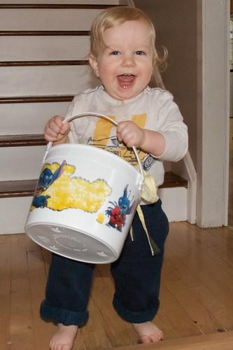 Damien's Bucket of Cloths