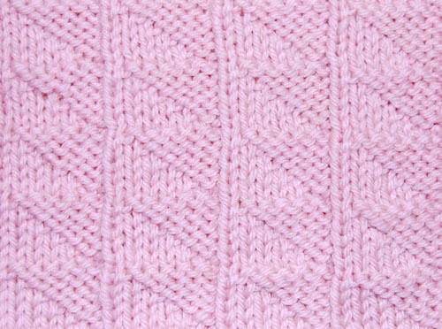 Triangular Stitch RS