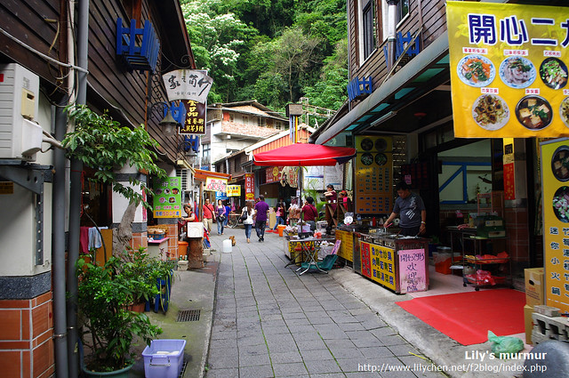 清安豆腐街一角,短短但小巧可愛的街道。