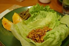 Lettuce Wrap meal