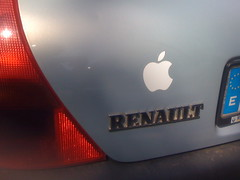 Apple Sticker
