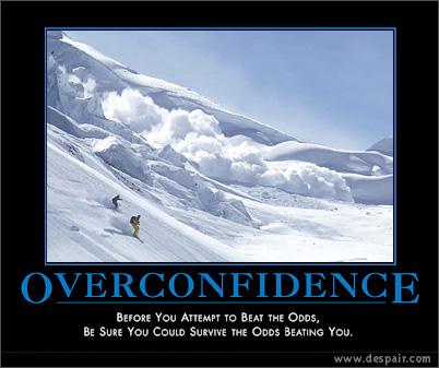 overconfidence