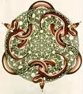 M. C. Escher. Serpientes. 1969.