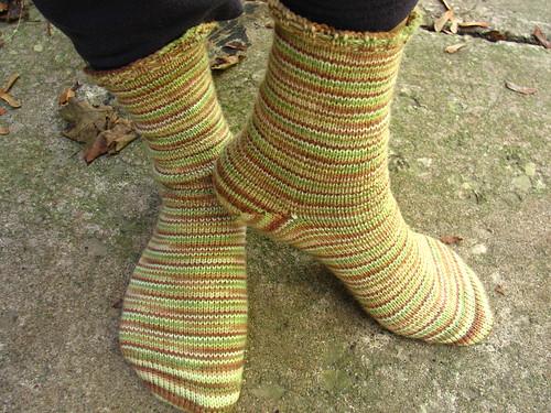 Forest Glade Socks