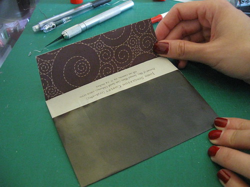 DIY envelopes & cards
