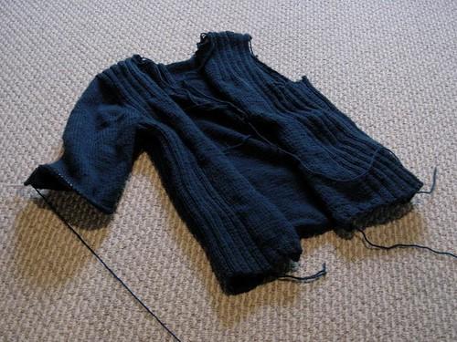 husband's sweater