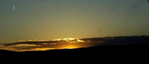 Golden Setting Sun