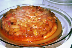 Rhubarb Upside-down Cake (117/366)