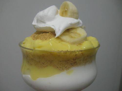 Banana Cream Parfait