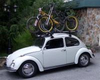 Roof rack bike holder? : beetle
