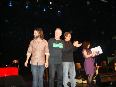 Quique González / Pancho Varona / Luis García Montero / Sonia San Román