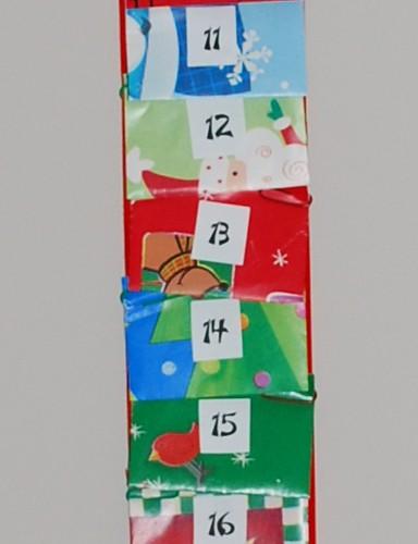 Advent Calendar Closeup