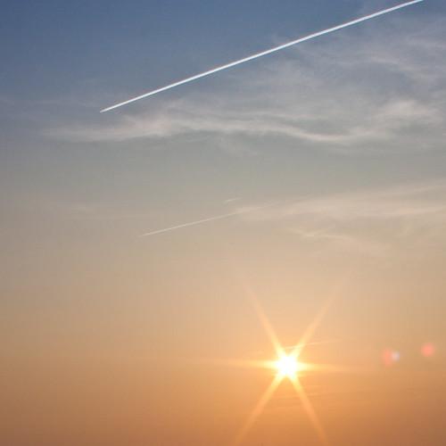 far above the sun