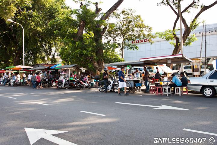 20110506 Sg. Pinang Honda Showroom Hawker Stalls @ Penang-10
