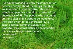 untarnished social networks