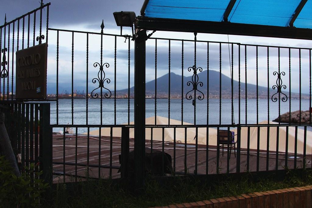 El Vesubio desde Santa Lucia