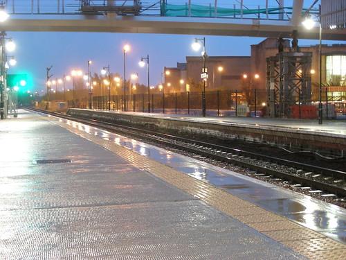 Platform 3 rainy morning