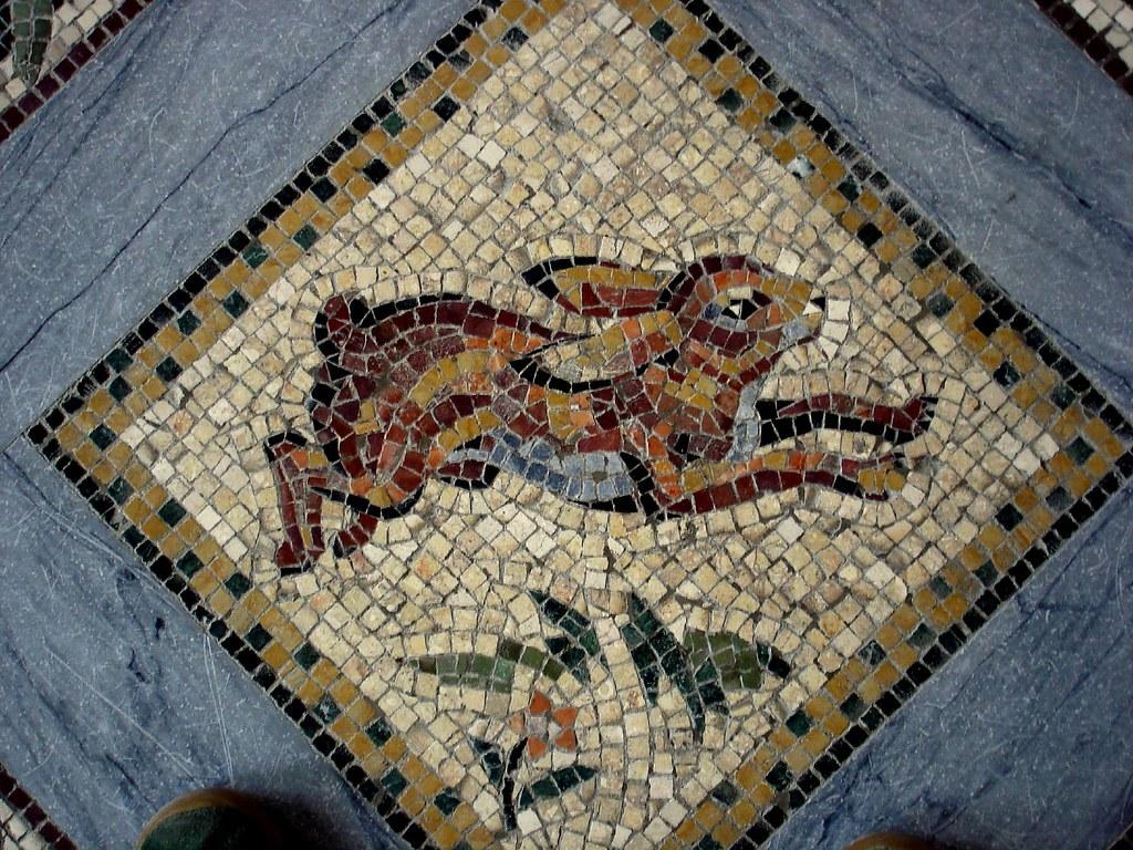 bunny mosaic!