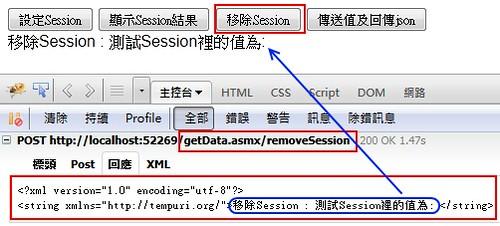移除Session內容