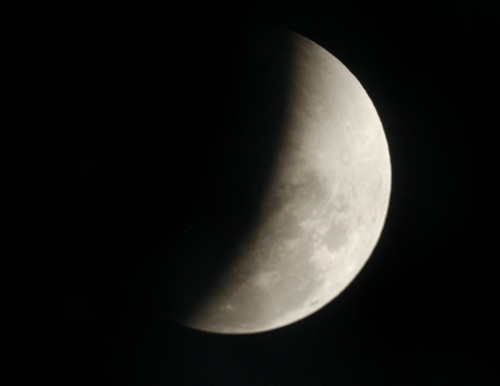 The Eclipse is nearly over on 2-20-08