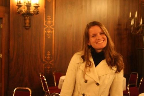 Sarah in the Florentine Room
