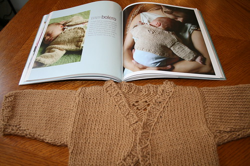Baby Bolero, picture from One Skein