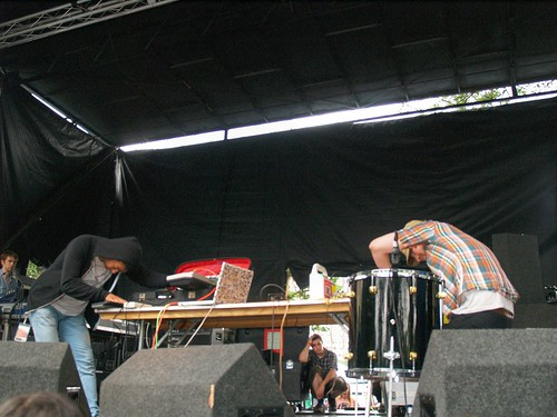 Fuck Buttons @ Pitchfork 2008, Chicago 07/19/08