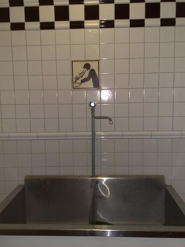 The vomit trough