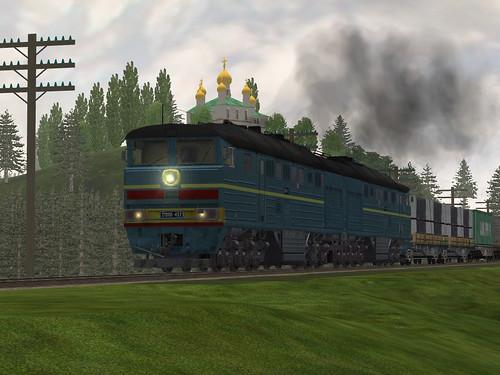 2TE116 452 RZD (Russian Railways) by train_simulator.