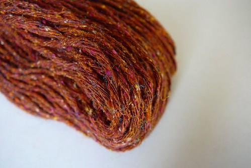 dk Silky Tweed rust
