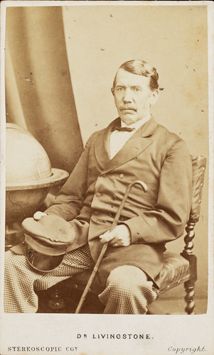Carte de visite of David Livingstone