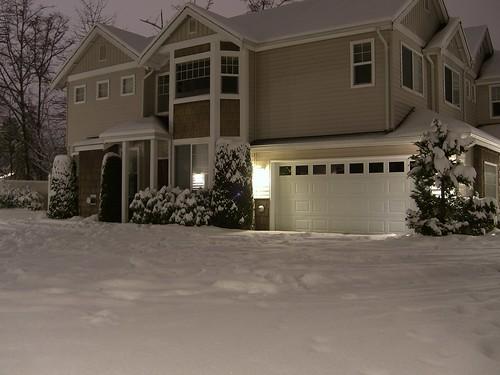 Quite heavy snow