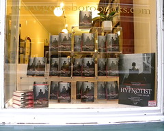 The Hypnotist launch at Goldsboro Books