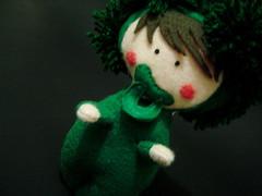 Boneco do Bebê Brócolis
