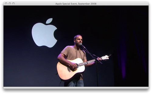 Jack Johnson - Apple Special Event 08