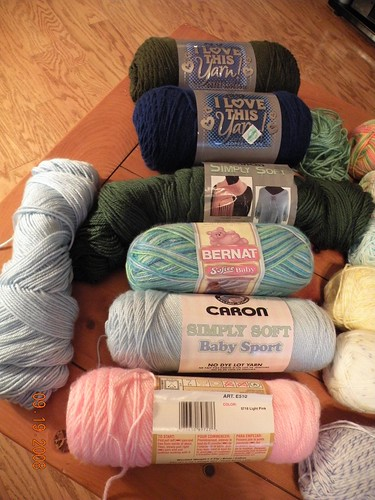 DK and Worsted Weight Yarn