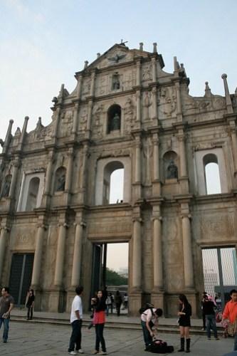 Ruins of Saint Paul