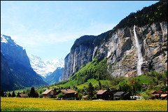 View From Wengen, Bernese Oberland